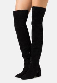 Patrizia Pepe - STIVALI BOOTS - Over-the-knee boots - nero - 0