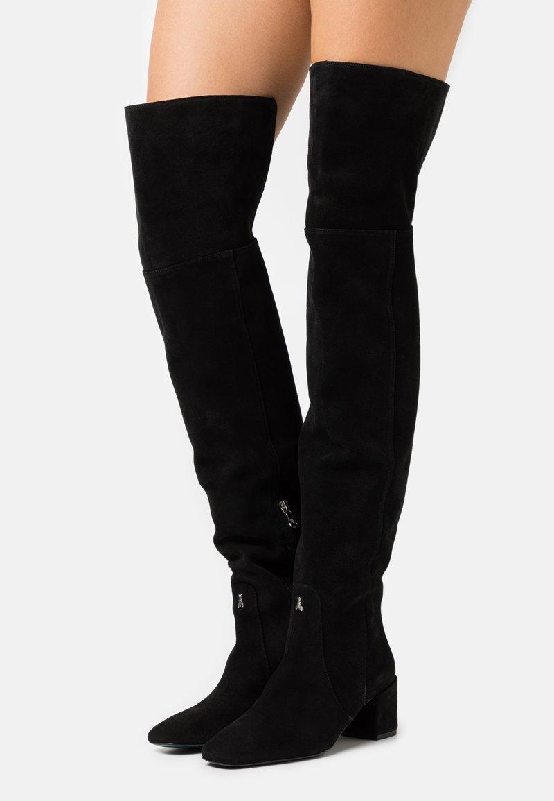 Patrizia Pepe - STIVALI BOOTS - Over-the-knee boots - nero