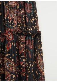 Mango - Maxi-jurk - schwarz - 8