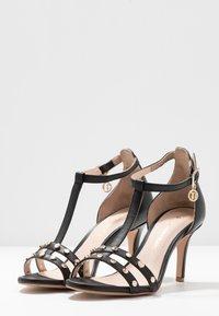 Trussardi - Korolliset sandaalit - black - 4