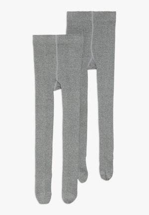 ONLINE JUNIOR BASIC UNISEX 2 PACK - Sukkahousut - grey