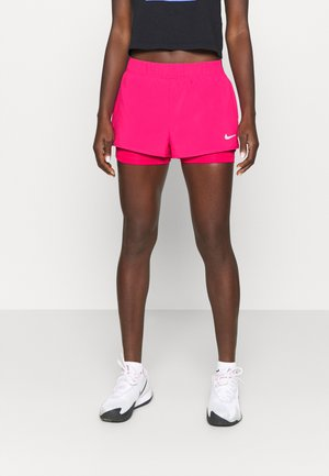 FLEX - Sports shorts - vivid pink/white