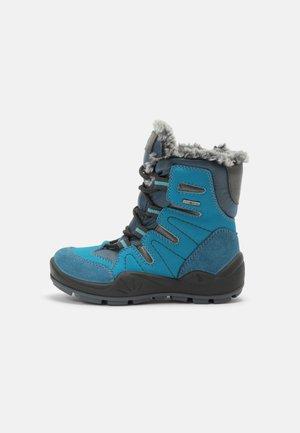 UNISEX - Winter boots - turch/balt/jean