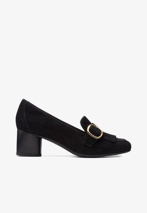 Classic heels - zwart suède