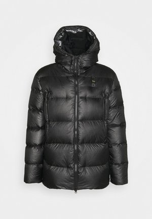 BLOUSON IMBOTTITO PIUMA - Down jacket - dark grey/faded black