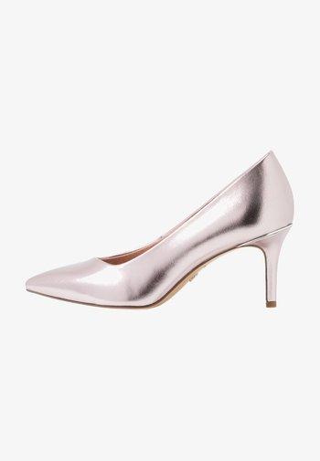 COURT SHOE - Classic heels - rose metallic