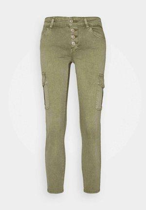 ONLMARYA PINARA LIFE PANT - Cargo trousers - deep lichen green