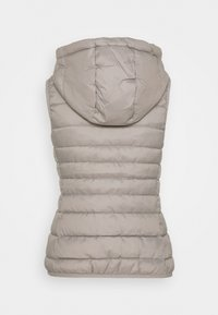 ONLY Petite - ONLNEWTAHOE HOOD WAISTCOAT - Waistcoat - silver - 1