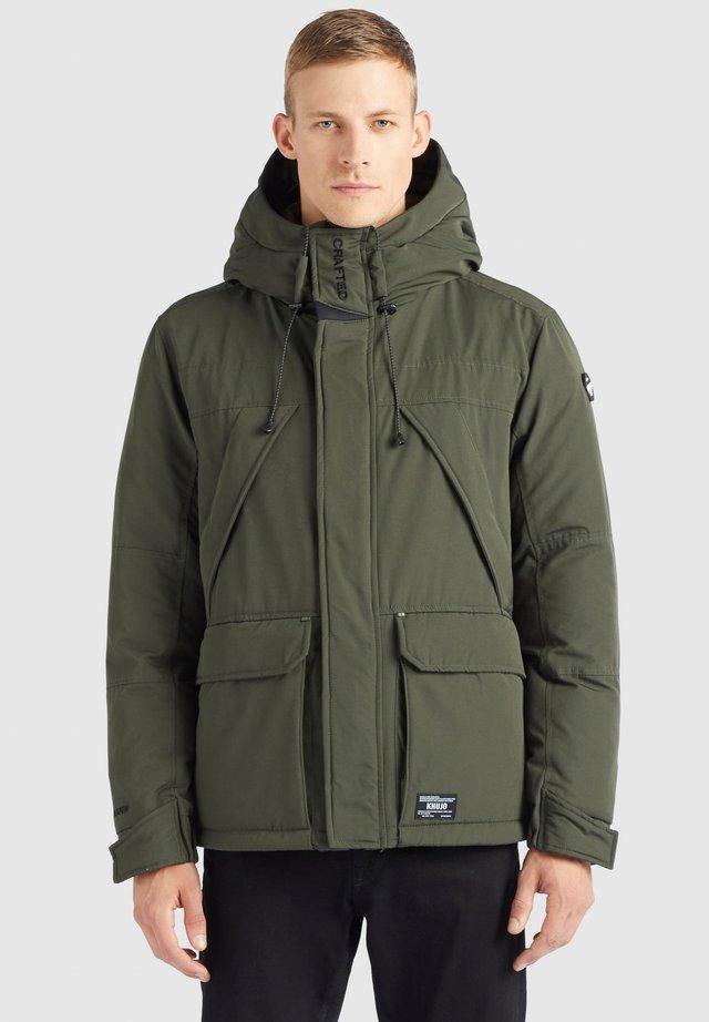 BARNS - Winterjas - dunkelgrün