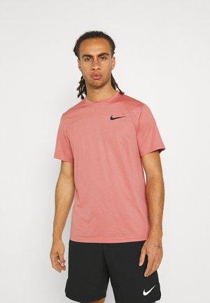 DRY  - Basic T-shirt - canyon rust/rust pink/black