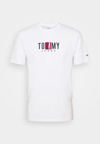 TIMELESS BOX TEE UNISEX - T-shirt med print - white