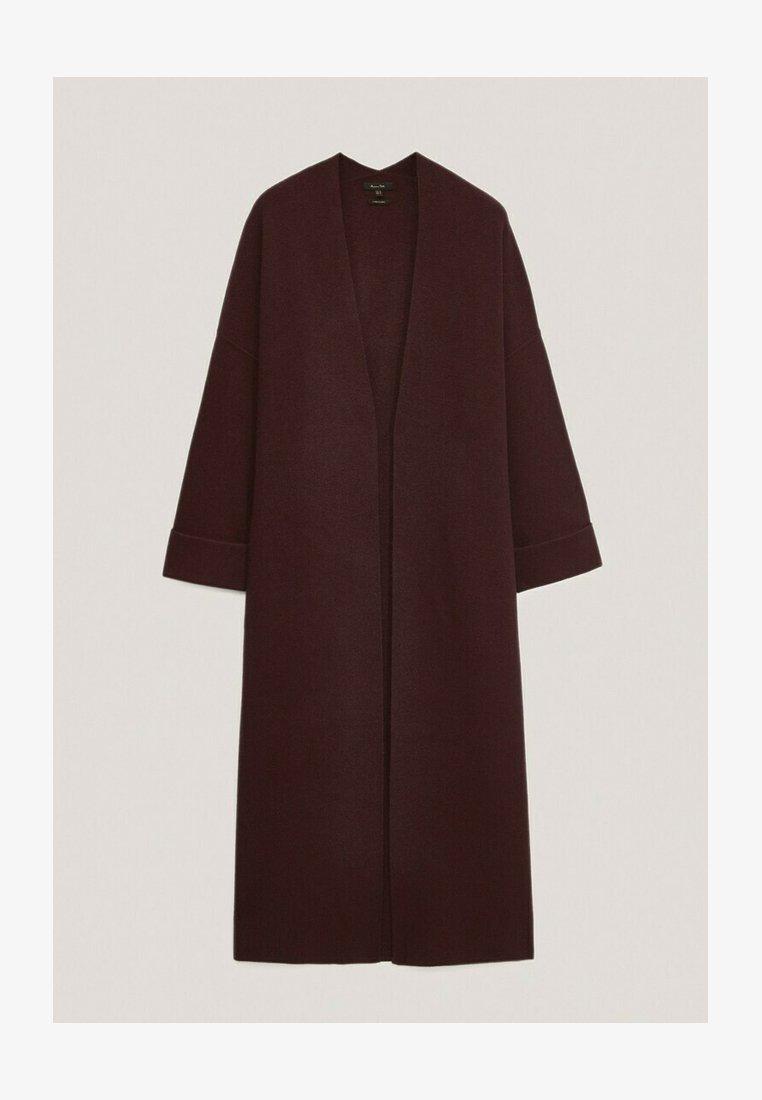 Massimo Dutti - Classic coat - bordeaux