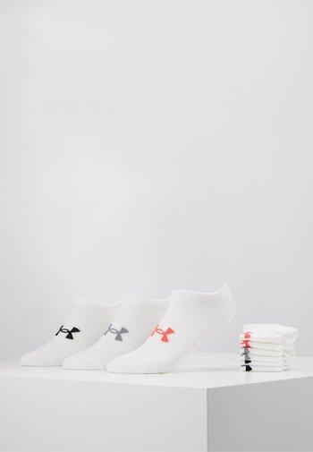 WOMENS ESSENTIAL 6 PACK - Calcetines de deporte - white / white / watermelon