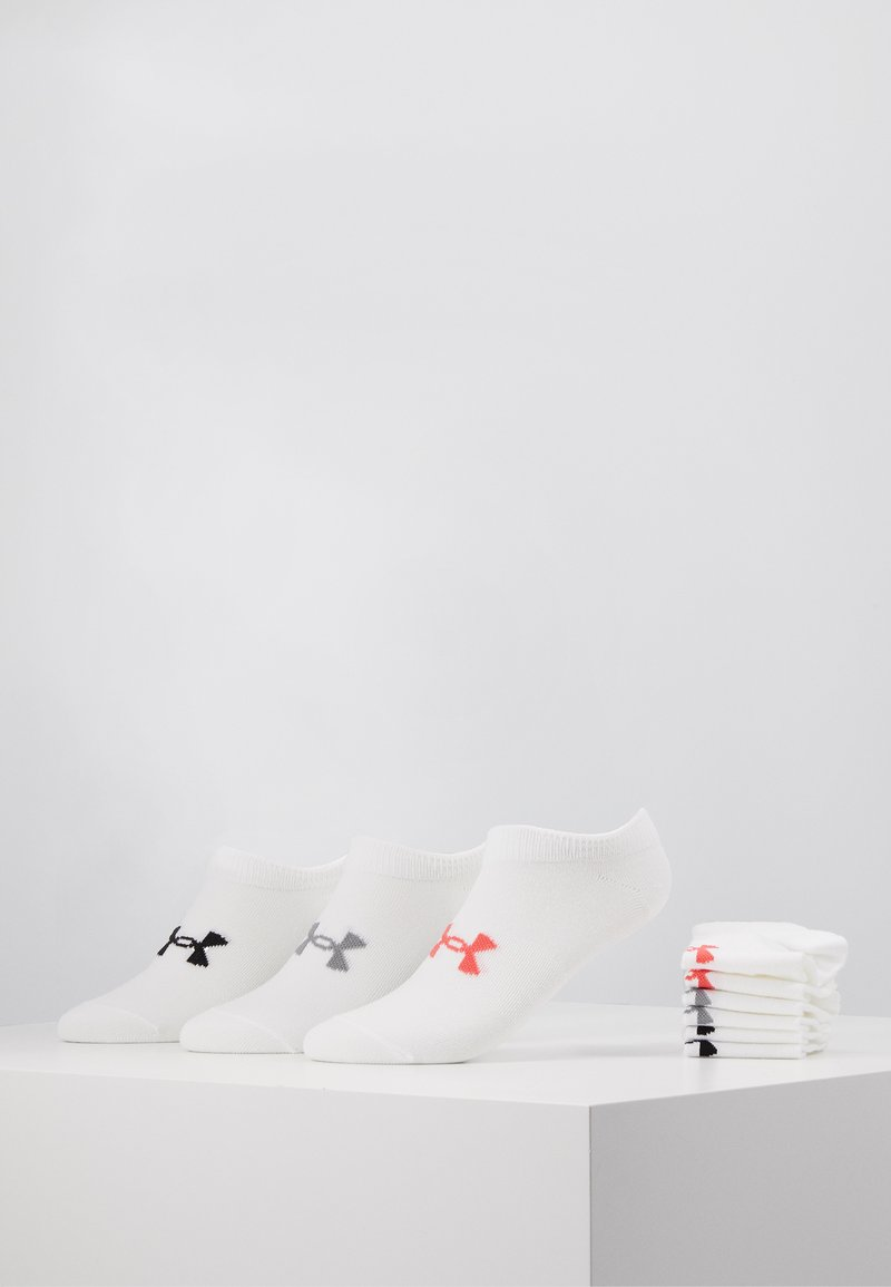 Under Armour - WOMENS ESSENTIAL 6 PACK - Calcetines de deporte - white / white / watermelon