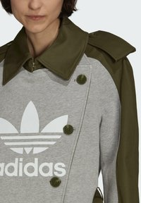 adidas Originals - Dry Clean Only xTRENCH COAT - Classic coat - wild pine - 4