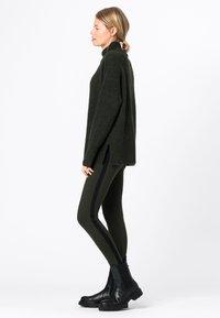 HALLHUBER - Leggings - Trousers - olijfgroen - 2