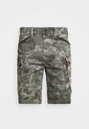 ROXIC CARGO - Shorts - bracket stretch twill ao - charcoal gd  camo