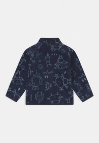 OVS - FULL ZIP - Giacca in pile - navy blue - 1