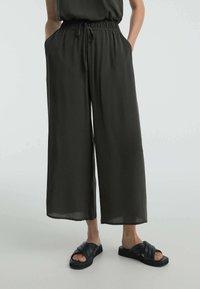 OYSHO - Pantalon classique - dark grey - 0