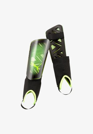 ULTRA LIGHT GAME ON  - Shin pads - gelbschwarz