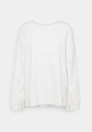 LONGSLEEVE SLITS AT SIDESEAMS - Sweatshirt - scandinavian white