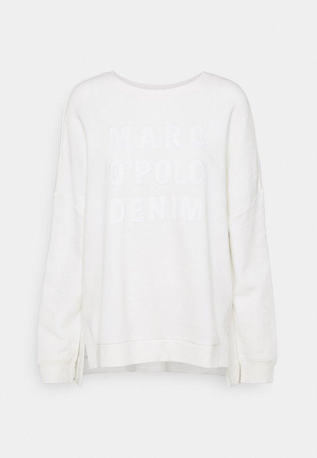 LONGSLEEVE SLITS AT SIDESEAMS - Sweatshirt - scandinavian white