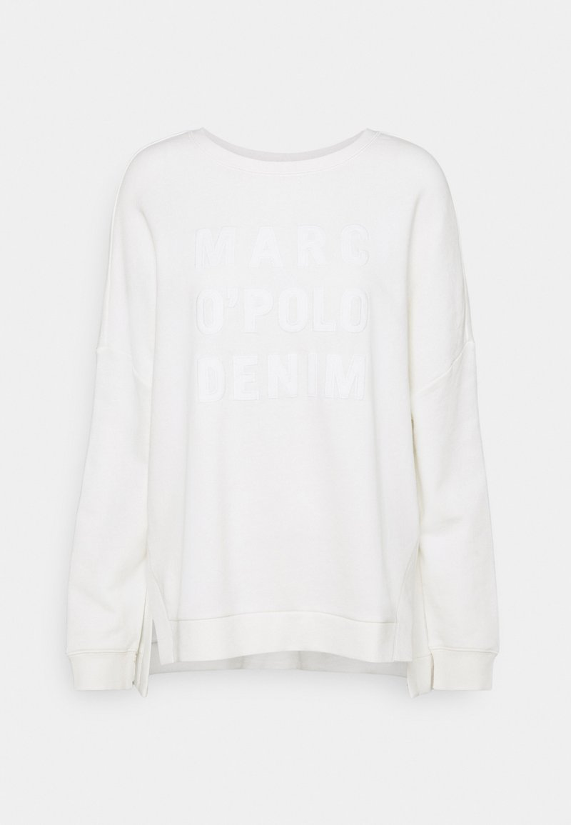 Marc O'Polo DENIM - LONGSLEEVE SLITS AT SIDESEAMS - Sweatshirt - scandinavian white