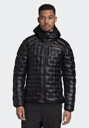 TERREX ICESKY HOODED DOWN JACKET - Untuvatakki - black