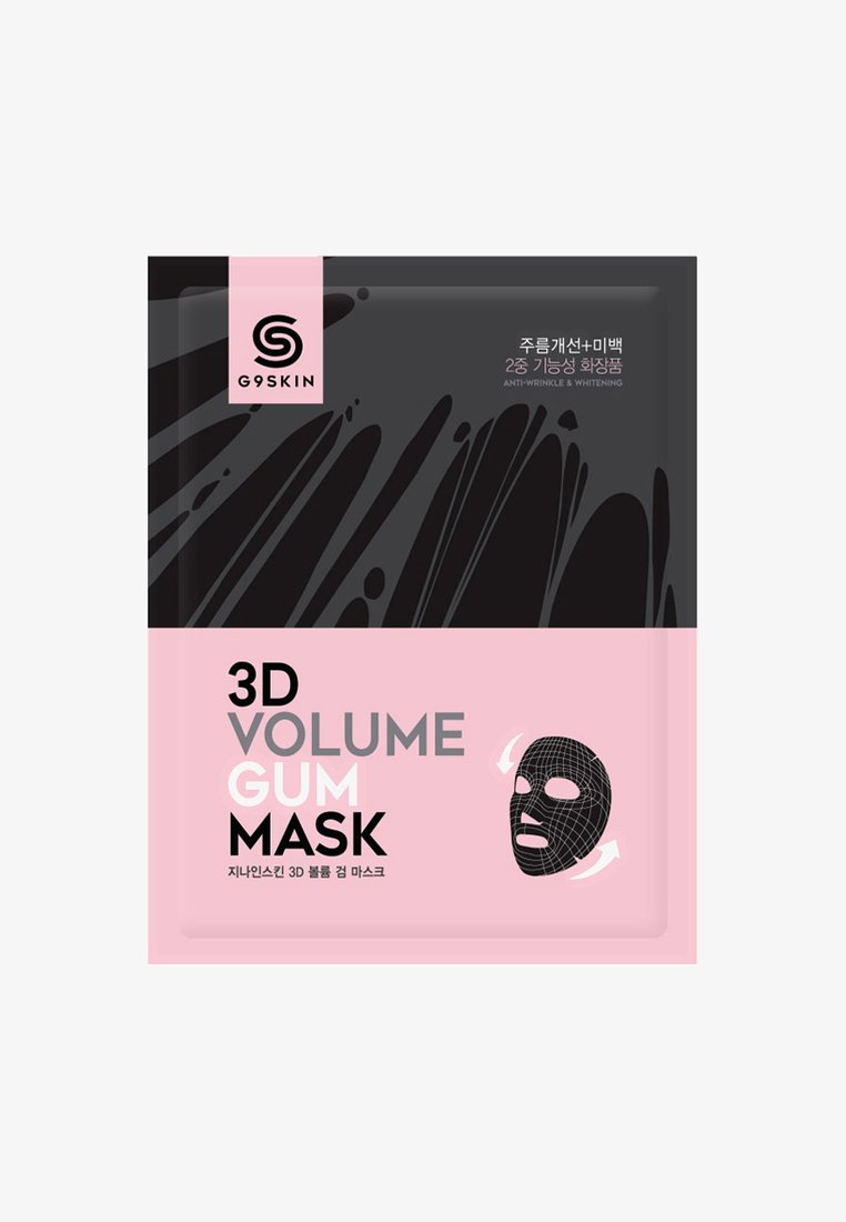 G9 - 3D VOLUME GUM MASK 2 PACK - Face mask - neutral