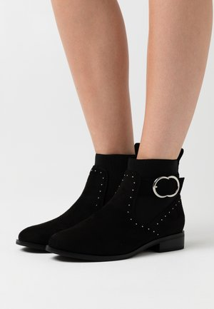 ONLBOBBY LIFE BUCKLE BOOT  - Classic ankle boots - black
