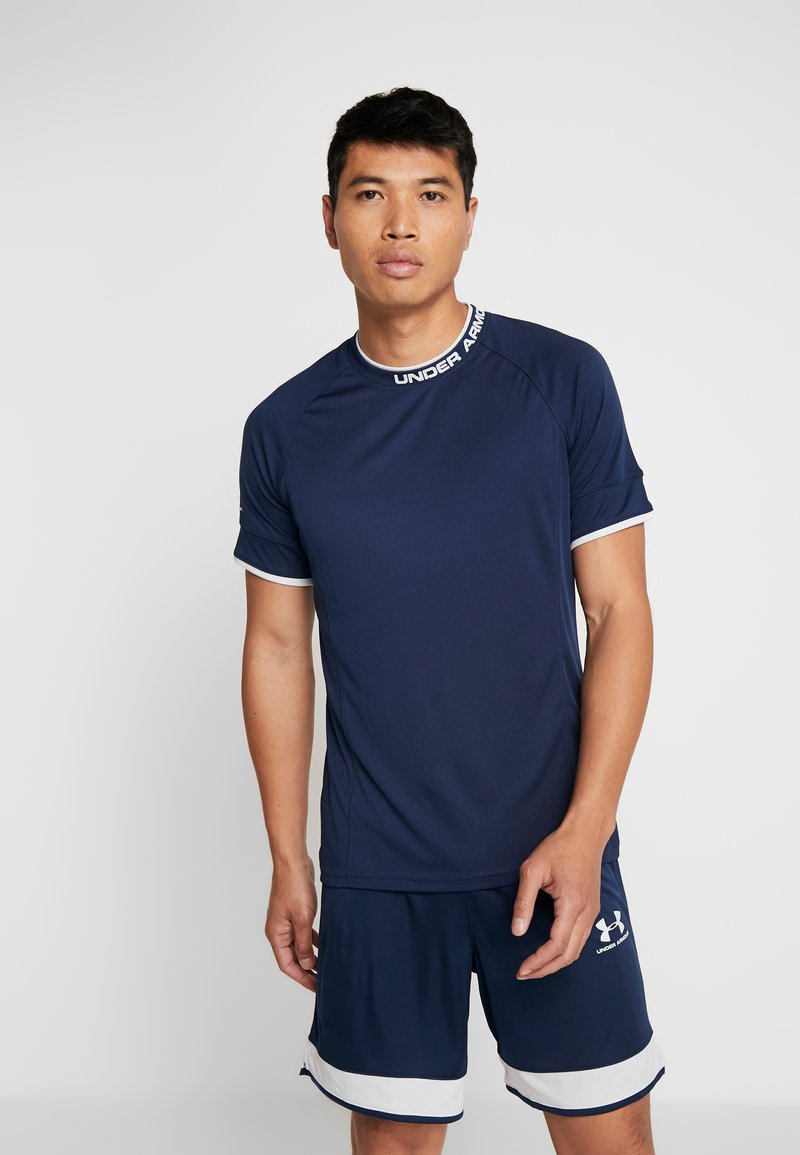 Under Armour - CHALLENGER TRAINING  - T-shirts print - dark blue