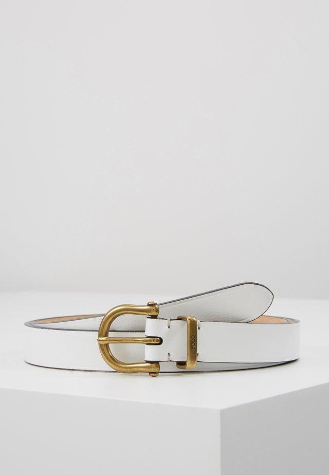 Pásek - white