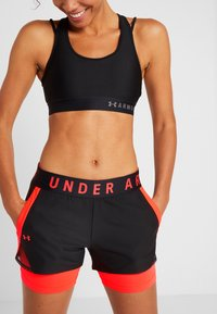 Under Armour - PLAY UP SHORTS - Pantalón corto de deporte - black - 3