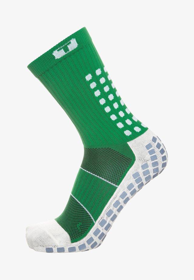 Socks - green / white