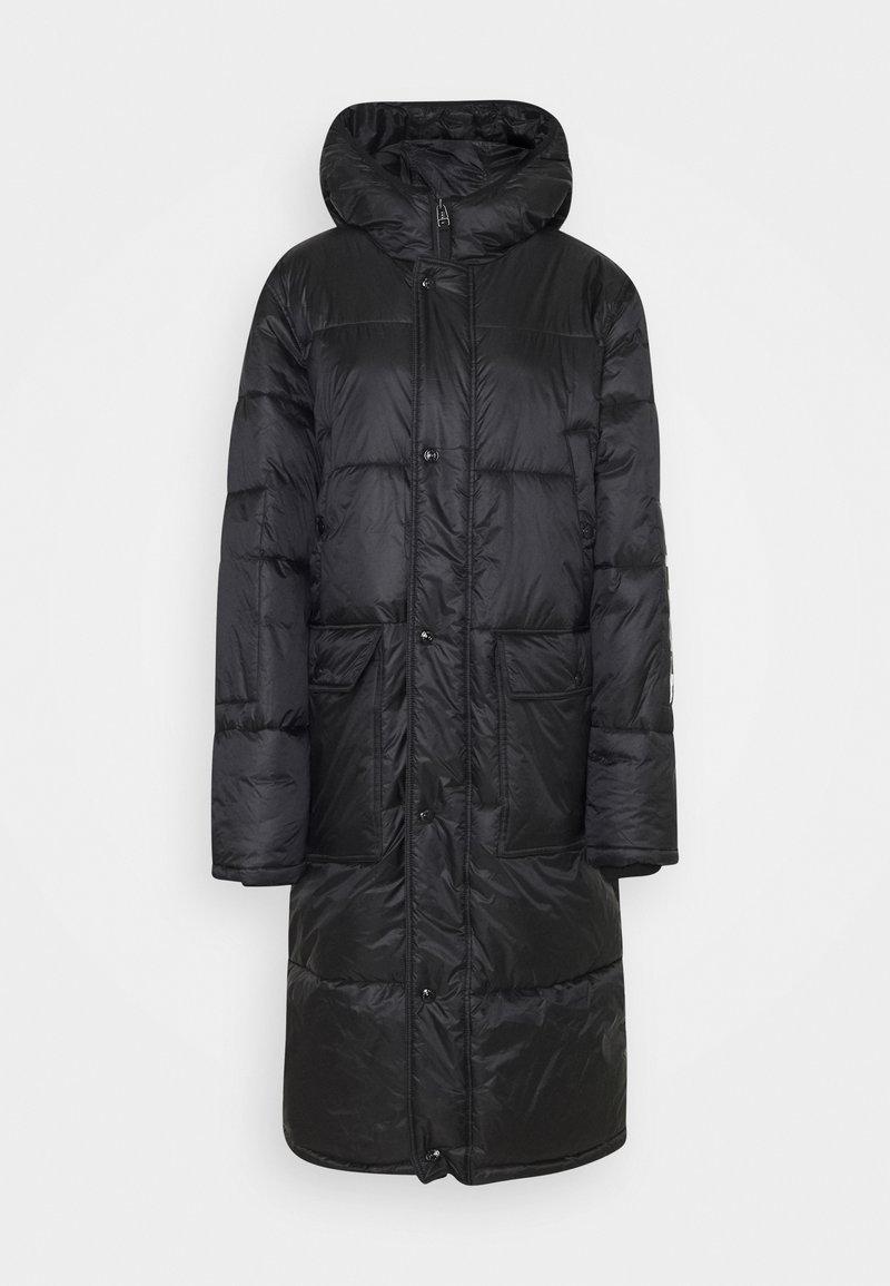 True Religion - Zimní kabát - black