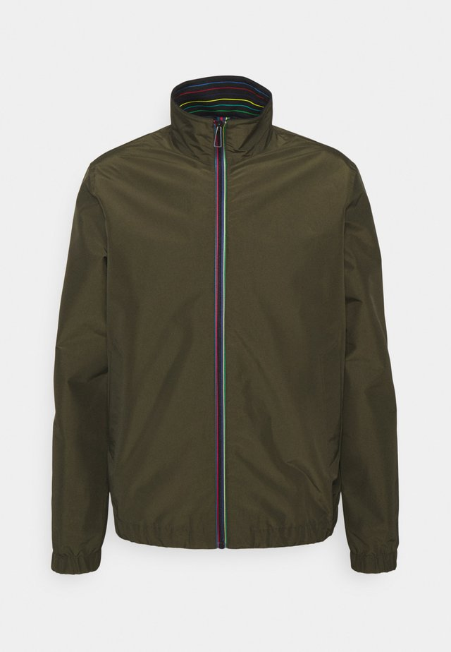 MENS TRACK JACKET - Veste de survêtement - khaki