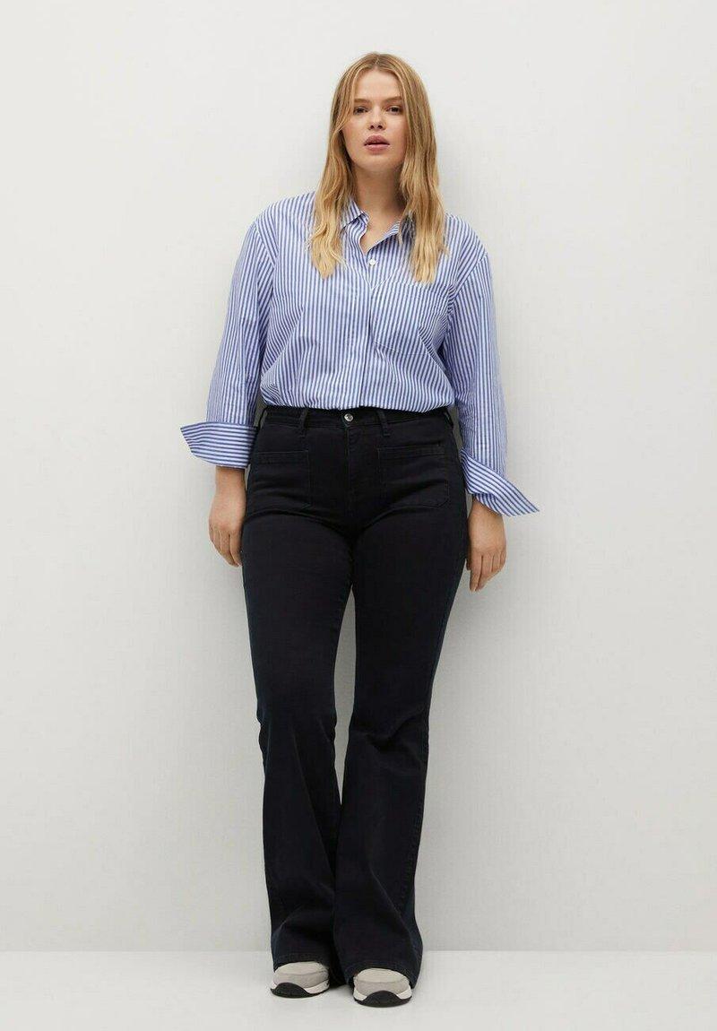 Violeta by Mango - Button-down blouse - dark blue