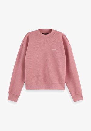 HIGH NECK RELAXED - Sweatshirt - pink