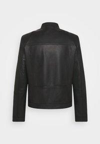 HUGO - LONOS - Leather jacket - black - 8