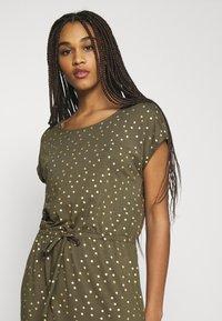 ONLY - ONLMILLIE BELT DRESS - Jerseykjole - kalamata/gold - 3