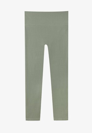 NAHTLOSE - Leggings - Trousers - khaki