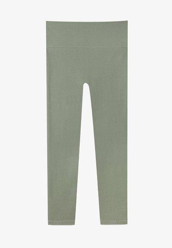 NAHTLOSE - Leggings - Trousers - khaki