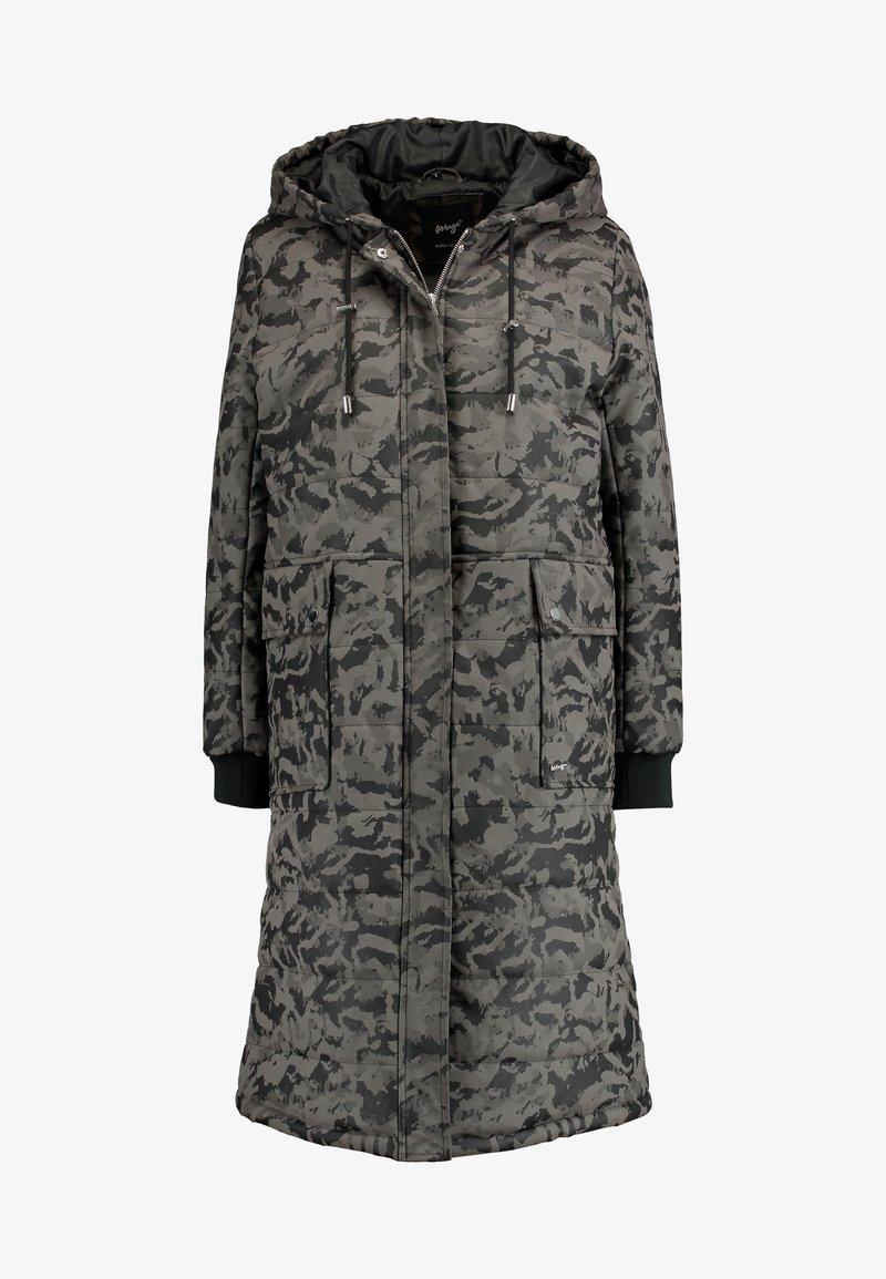 CANOGA Wollmantelklassischer Mantel grey
