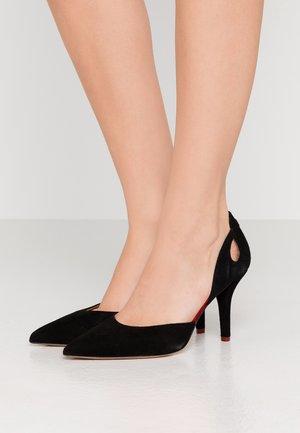 MAY - Lodičky na vysokém podpatku - black