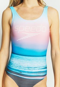 Speedo - Swimsuit - blue/light blue/pink - 5