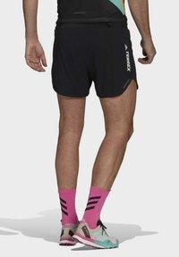 adidas Performance - Agravic PRO SHORT TECHNICAL AEROREADY TRAIL RUNNING SHORTS - Shorts - black - 2