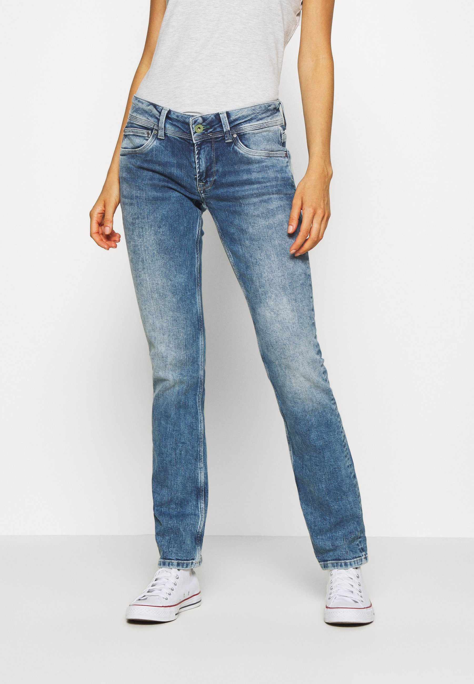 Pepe Jeans HOLLY Straight leg jeans dark blue denim
