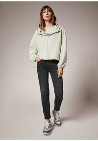 comma casual identity - MODALMIX - Zip-up sweatshirt - misty green - 1