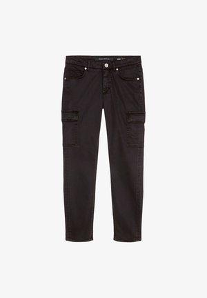 LULEA SLIM MID WAIST  - Slim fit jeans - dark atlantic