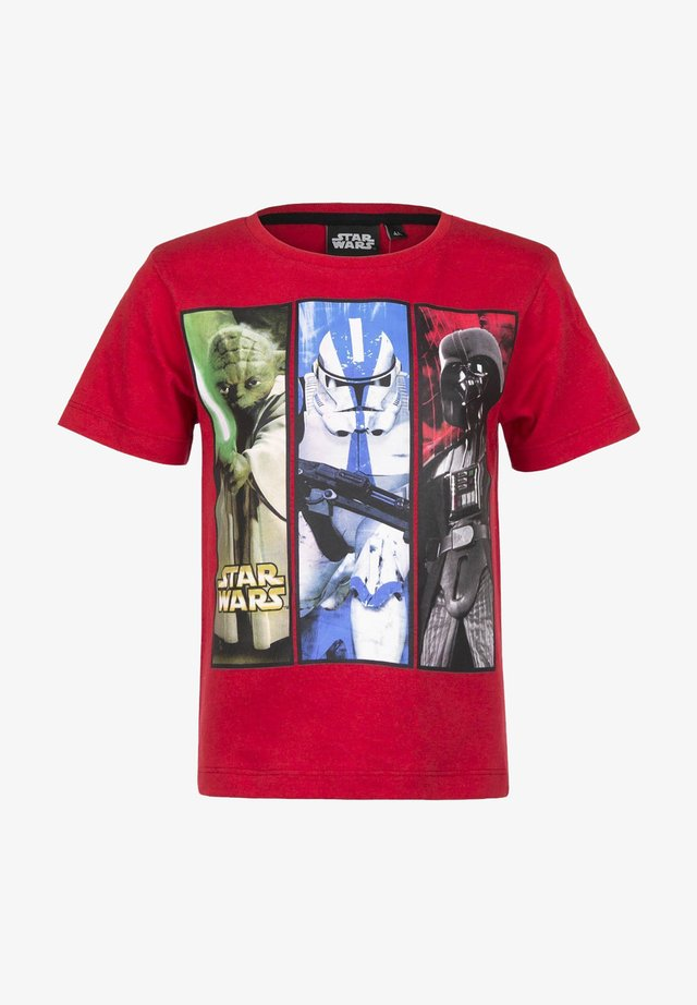 STAR WARS - Print T-shirt - rot